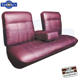 Details About 1963 Cadillac Deville Front Rear Seat Covers Upholstery Coupe Pui New