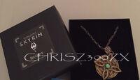 Skyrim Amulet Of Mara Necklace + Chain - Rare