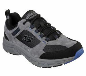 Details zu Skechers Mens Sport Casual OAK CANYON Sneakers Herren Grau 51893 CCBK