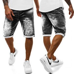 Kurzhose Shorts Jeanshose Bermudas Jeans Classic Casual Herren OZONEE RF//HY348