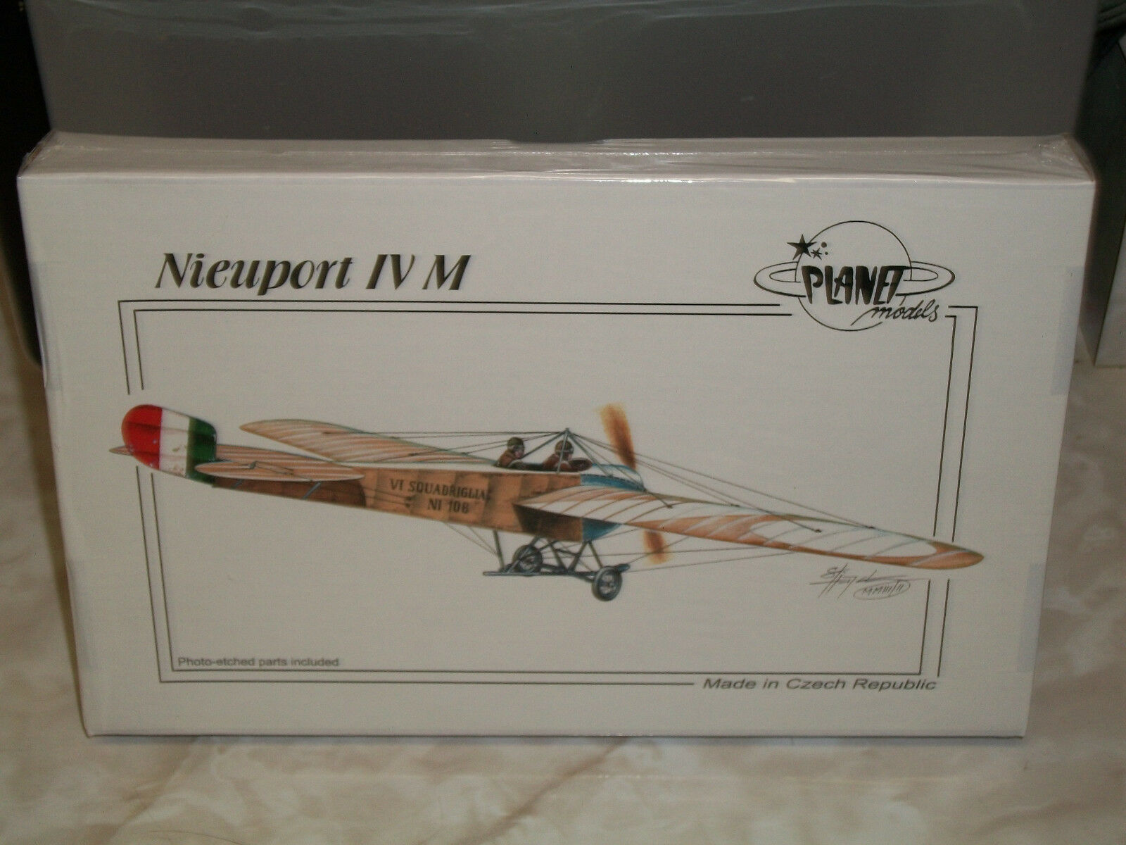 Planet Models 1 48 Scale Resin Nieuport IV M - Factory Sealed