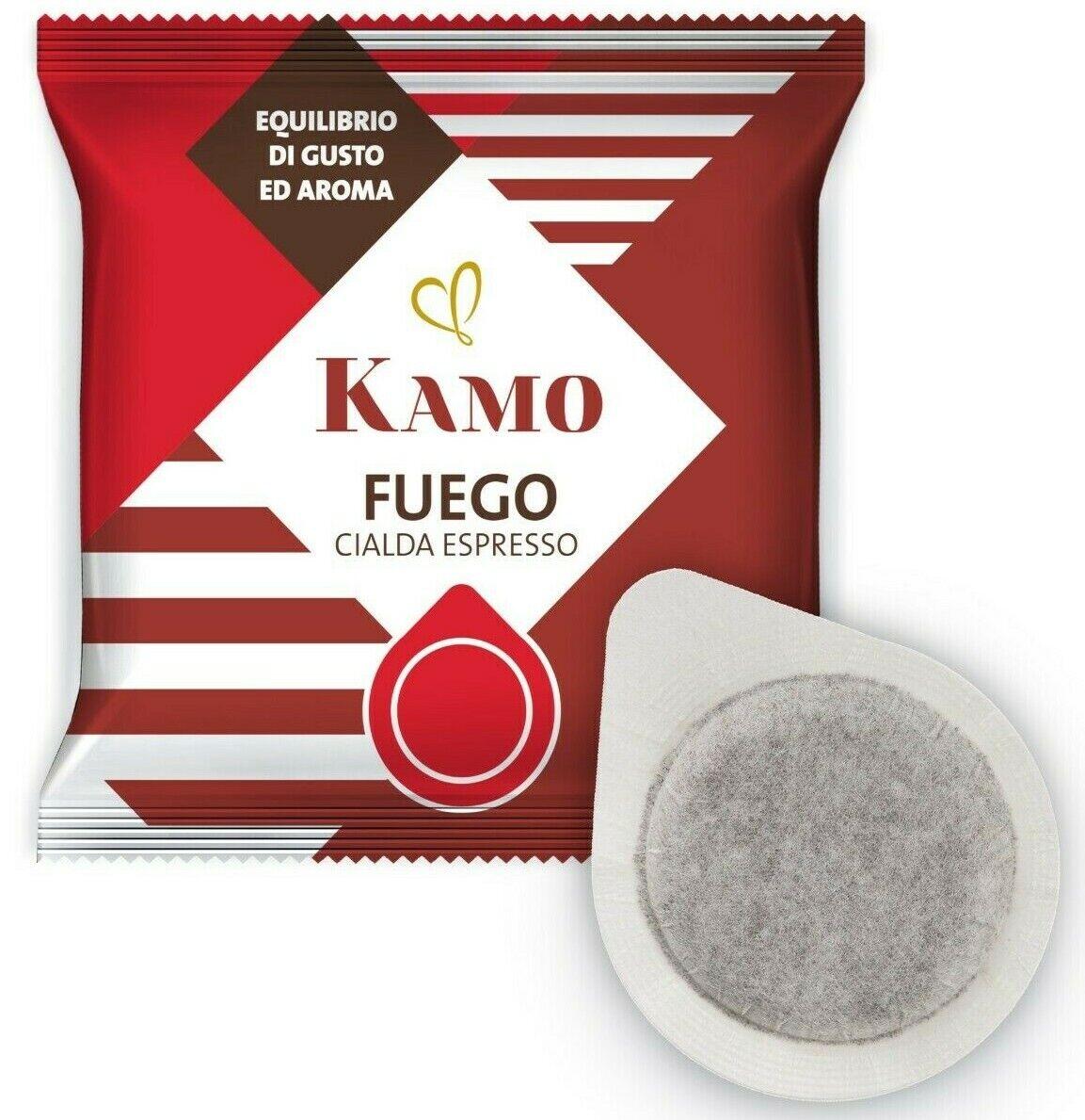 Immagine 1 - 150 Cialde Caffè KAMO Filtro carta ESE 44mm Miscela Fuego