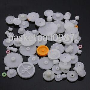Modul 0.7 Zahnrad Stirnrad KS aus Kunststoff Polyacetal 120 Zähne Bohrung Ø10