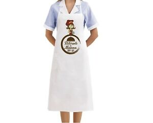 Grembiule Bianco Cucina Scritta Laurea Inizia la Festa laureata Idea Regalo