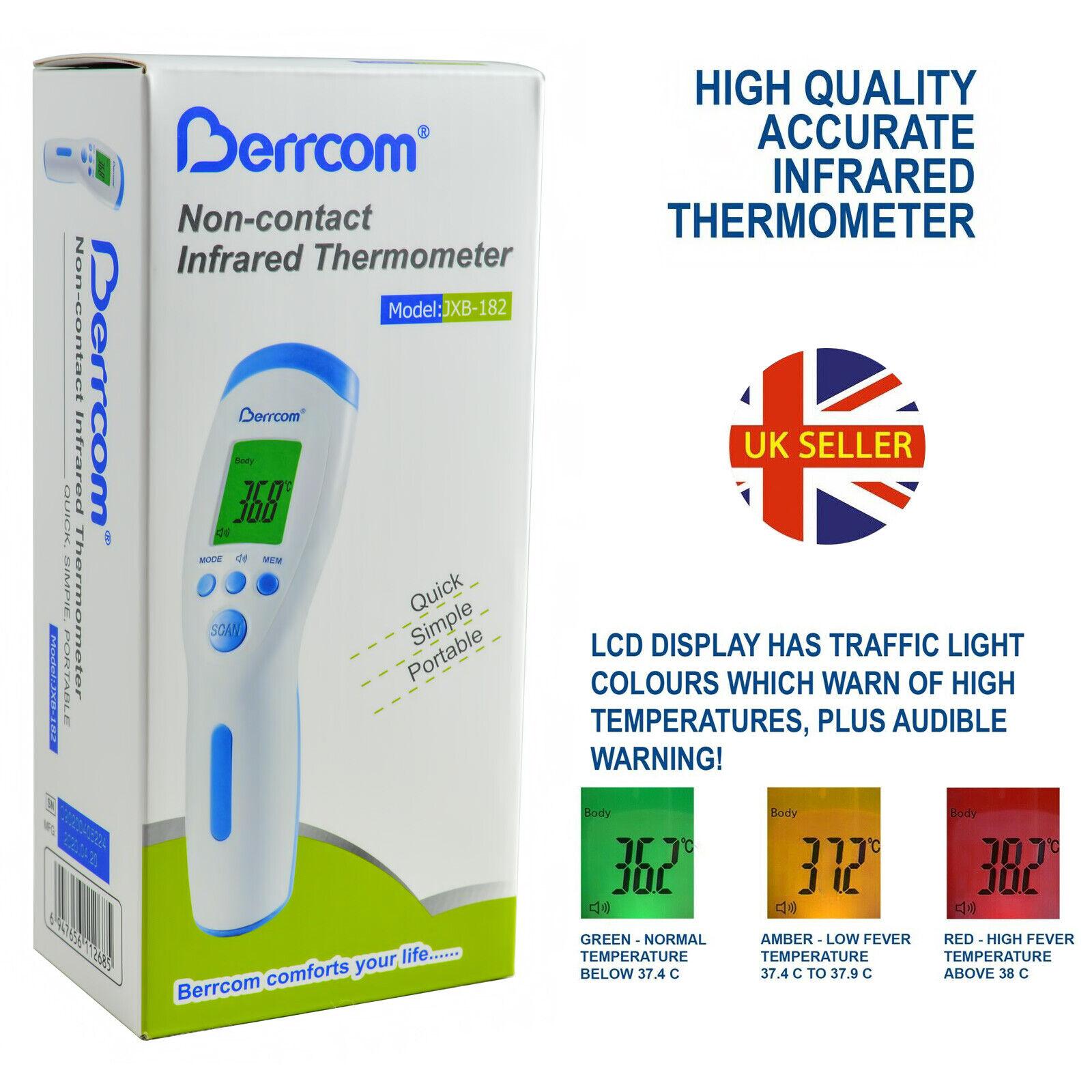 Berrcom Forehead Thermometer Children