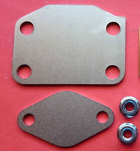 Details about MITSUBISHI 4M41 3 2 ENGINE 09/06> - *X4 BOLT* EGR BLANKING  PLATE KIT SHOGUN