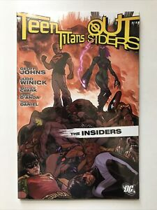 Teen Titans Go! Ser.: The Insiders by Geoff Johns and Judd Winick (2006, Trade P