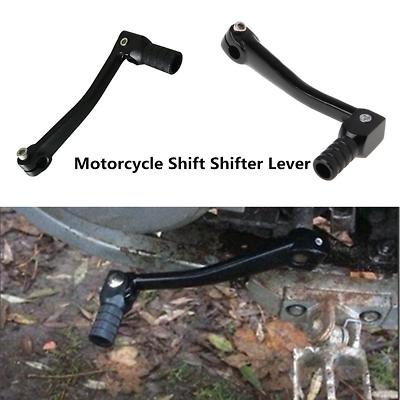 Black Motorcycle ATV Aluminum CNC Folding Gear Transmission Shifter Shift Lever