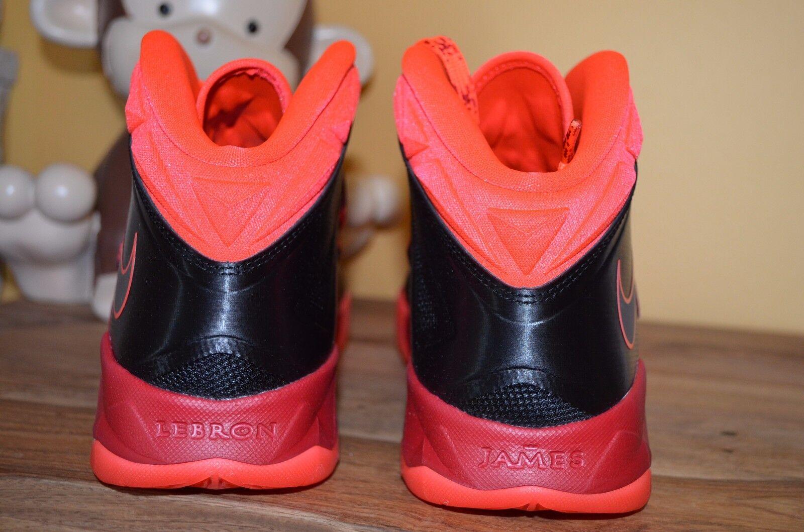 2161c39a79703 NEW NIKE ZOOM SOLDIER VII PP Black Orange Gym Red Red Red SZ 10 - 13 ...