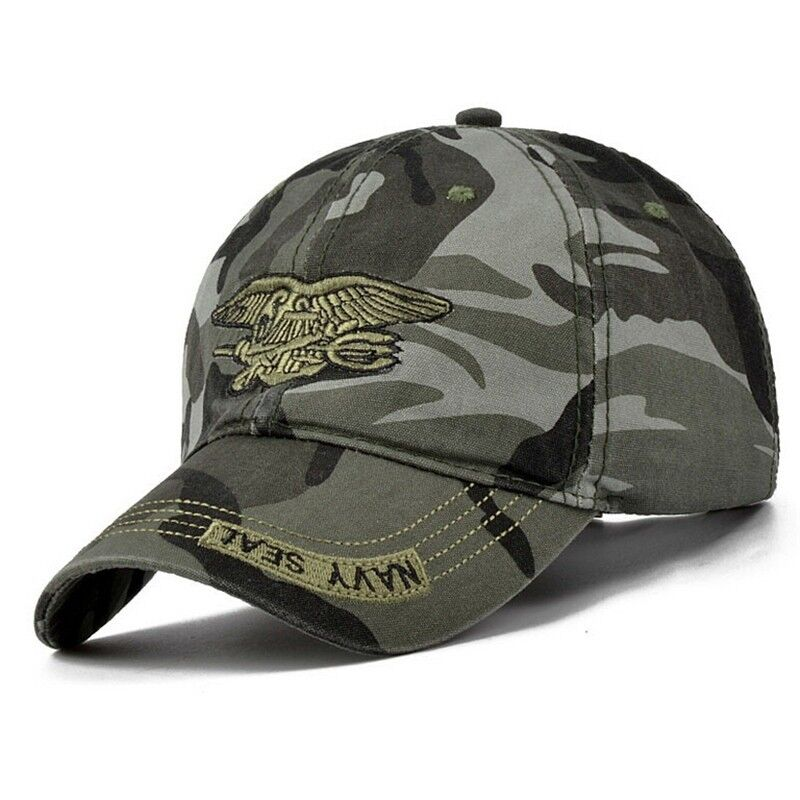 4723093b5 Details about Army Green Baseball Cap Navy Seal Tactical Snapback Hat  Adjustable For Men Women