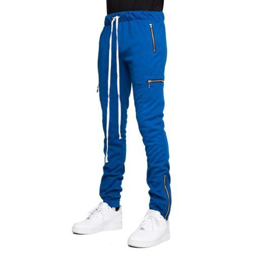 EPTM Men/'s Techno Side Zipper Long Drawstring Cargo Pants