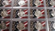 Uncirculated Morgan Silver Dollar BU US Coin Lot Collection ~ PRE-1900! (IN SET)