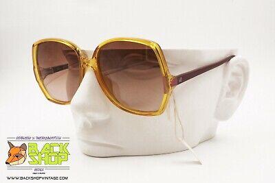Viennaline Mod. 1563 Vintage Sunglasses Big Square, Women Vintage Eyewear, Nos Medulla Benefico A Essenziale