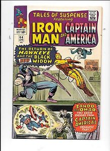 Tales-of-Suspense-64-April-1965-Hawkeye-Black-Widow-Iron-Man-Captain-America