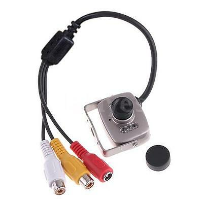Super Mini Micro Color Wired CMOS Camera Home Security Monitor PAL System N0R9