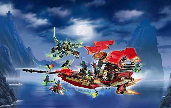 LEGO® NINJAGO™ 70738 Final Flight Flight Flight of Destiny's Bounty NEU OVP NEW MISB NRFB 6f6b20