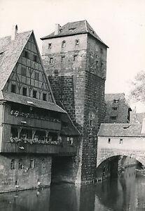 ALLEMAGNE c. 1940 - Maisons Tour Pont MaxBrücke à Nuremberg - DIV8373 qev5QW48-08061052-991244382