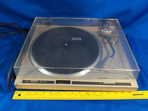 Vintage-PIONEER-PL-300-Direct-Drive-Stereo-Turntable-80s-Nice-Dustcover-VTG
