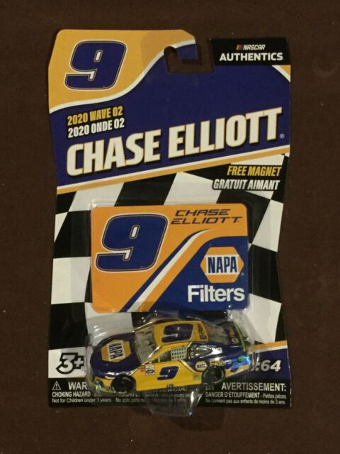 Chase Elliott #9 NASCAR Authentics 2020 Wave 2 NAPA Filters- Ships Free!