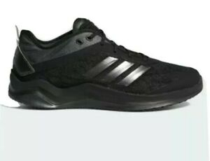 Adidas-Speed-Trainer-4-Black-Mens-Baseball-Trainer-Turf-Shoes-CG5135-NEW-Size12M