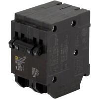 Squared Homeline Csed 30-amp 2-pole 120/240 Quad Circuit-breaker Load-switch
