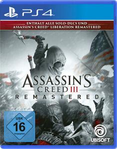 Assassin's Creed 3 Remastered - PlayStation 4 (NEU & OVP!)