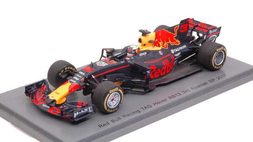 rouge Bull Tag Heuer Rb13  3 D. Ricciardo Spanish Gp 2017 1 43 Model S5036