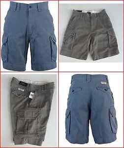 blu Mens cargo Classic Ralph Gellar Polo Pantaloncini Lauren Fatigue Grigio Nwt awqPAnvOv