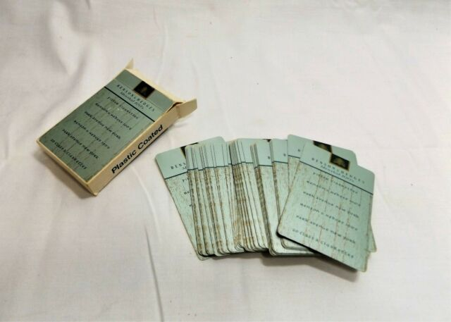 Vintage Benson & Hedges Menthol 100's Cigarette Deck of Playing Cards, Free  Ship