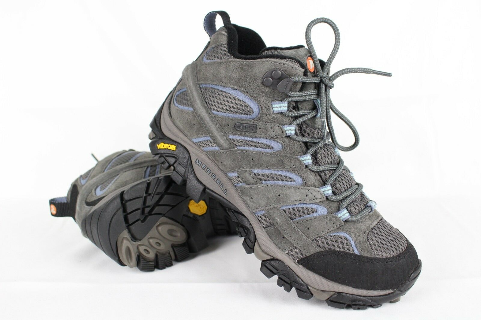 New New New Merrell Para Mujer botas Para Excursionismo A Prueba De Agua Moab 2 Mid Granito   J06054  mejor moda