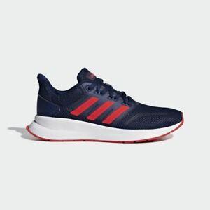 ADIDAS-runfalcon-Bambini-Ragazzi-Scarpe-Da-Ginnastica-Blu-Navy-F36543-Scarpe-Da-Corsa-athleisure