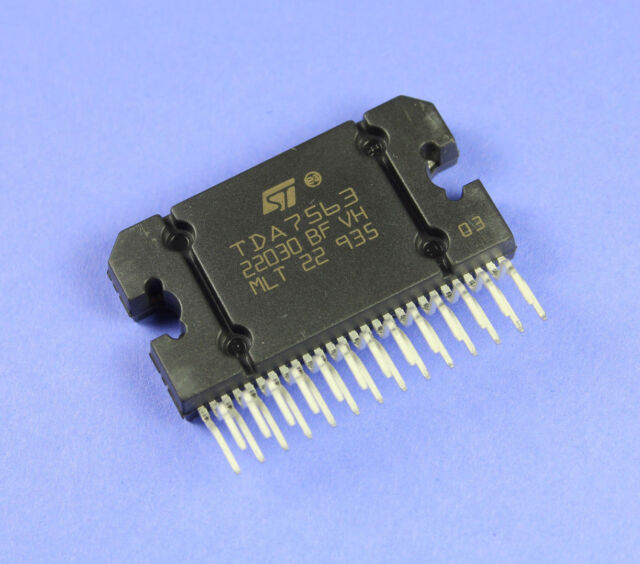 tda7563 stmicroelectronics audio integrated circuit quad power rh ebay com
