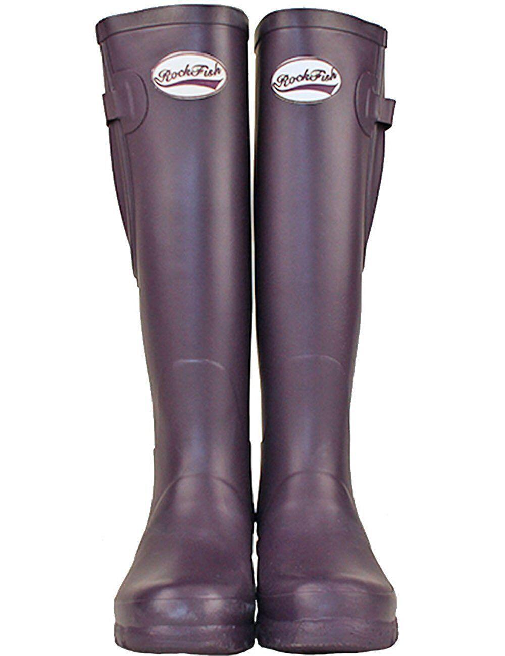 Rockfish Wellington Tall Mat   rfwb 1011 PE violet femmes Taille 5 - 8