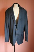Jcrew Thompson Suit Jacket In Worsted Wool 44l Navy 47226 Factory