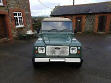LAND ROVER DEFENDER RETRO HERITAGE STYLE GLOSS BLACK ALUMINIUM FRONT GRILLE