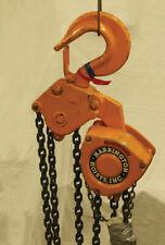Harrington Cb100 15 10 Ton With 15 Lift Chain Hoist