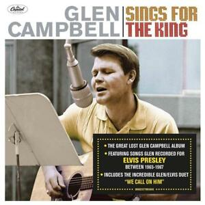 Details about GLEN CAMPBELL SINGS FOR THE KING CD (Released November 16th  2018)