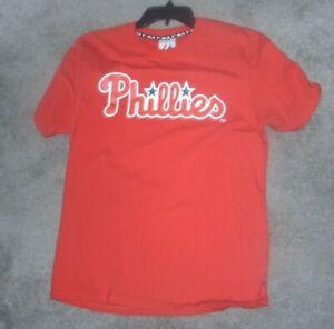 MAJESTIC-MLB-PHILADELPHIA-PHILLIES-LEE-22-T-SHIRT-039-SIZE-LARGE