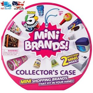 5-Surprise-Mini-Brands-Zuru-Ball-Collector-s-Display-Case-2-Mystery-Minis-NEW