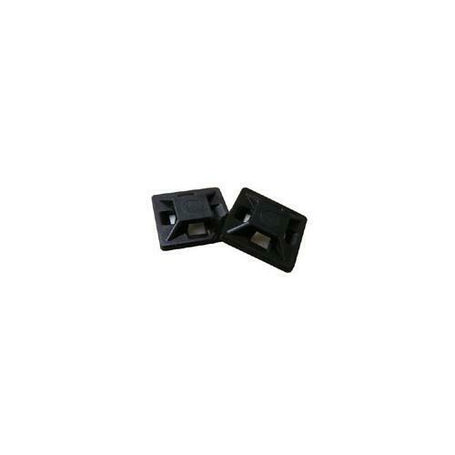 PC742 900 Pack of Adhesive Cable Ties Bases Black 28x28x5 mm
