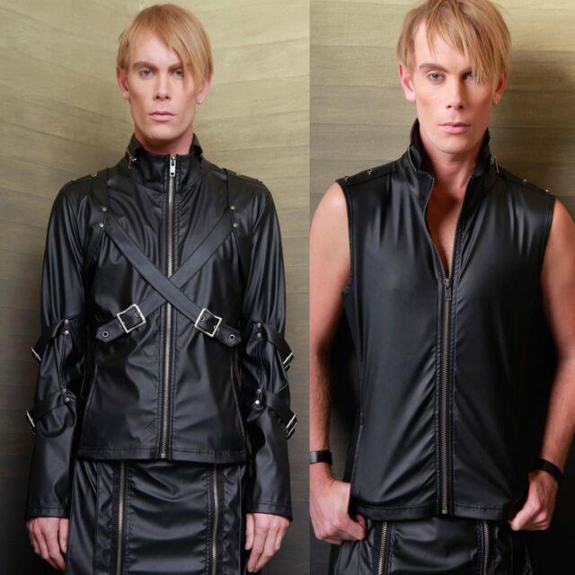 LIP SERVICE Transformer Jacket Kunst-Leder Vegi Leather Top GOTHIC