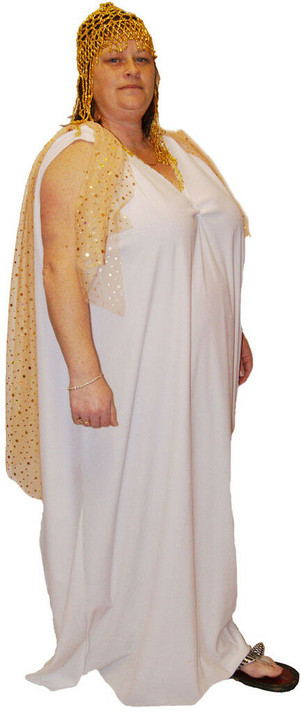 Cleopatra GODDESS Fancy Dress Outfit ALL PLUS GrößeS  | New Listing