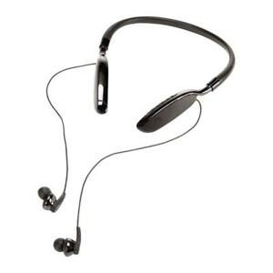 HeadRush HRS 5015 Neckband Bluetooth Earbuds with In-Line Controls - Black