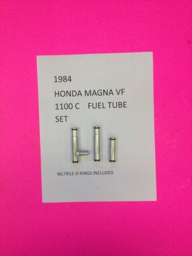 1984 HONDA MAGNA VF 1100  C COMPLETE SET OF ALLUMINUM CARB FUEL TUBES