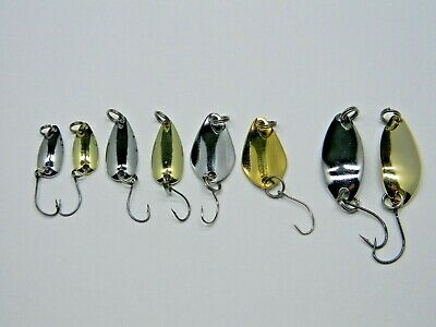 für Forelle *SyMa-Fishing* Mini Blinker Spoons 8 Stück 3g Barsch 1g