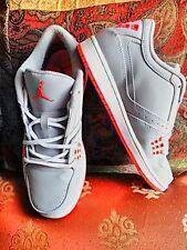 Nike Air Jordan Flight - $65  Grey with white trim and pink logo. Black one sold