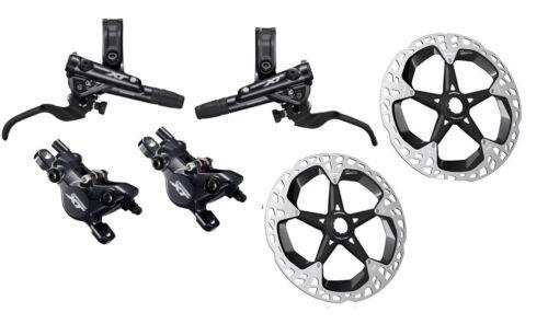 New Shimano XT M8100 MTB Disc Brake Set Front/&Rear MT800 CenterLock Rotor Pair