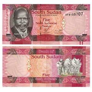 South Sudan 5 Pound 2011 Pick 6 Unc 2513878 Reliable South Sudan Other African Paper Money