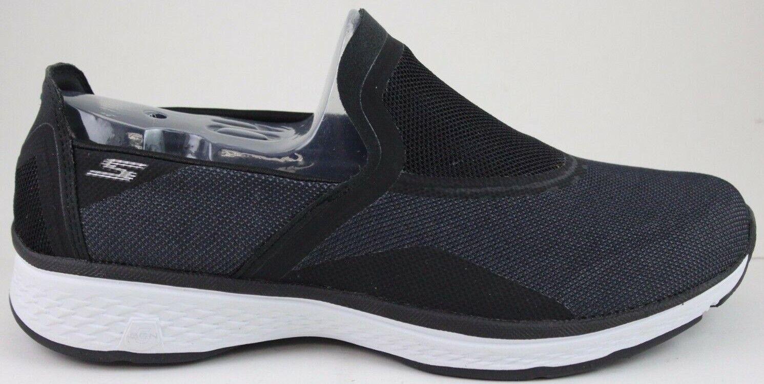 Skechers Mens Go Walk Sport-Refresh 54143 Black White New in Box