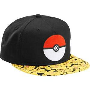 cdf471178ea Image is loading POKEMON-POKEBALL-PIKACHU-HAT-NEW